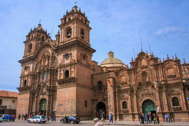 Cuzco Peru Street Scenery