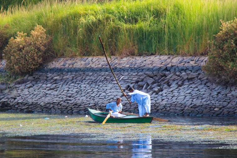 Felucca Boat Ride Nile River Egypt