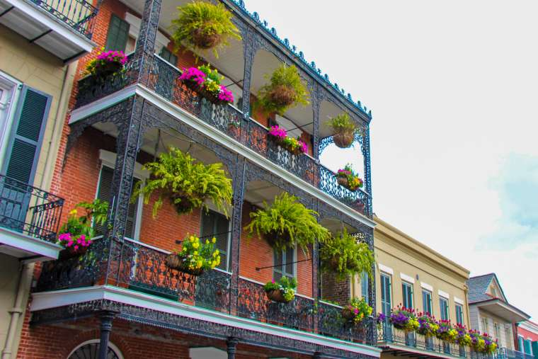 French Quarter Architecture NOLA new orleans