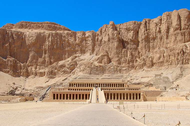 Hatshesptu Temple Luxor Egypt