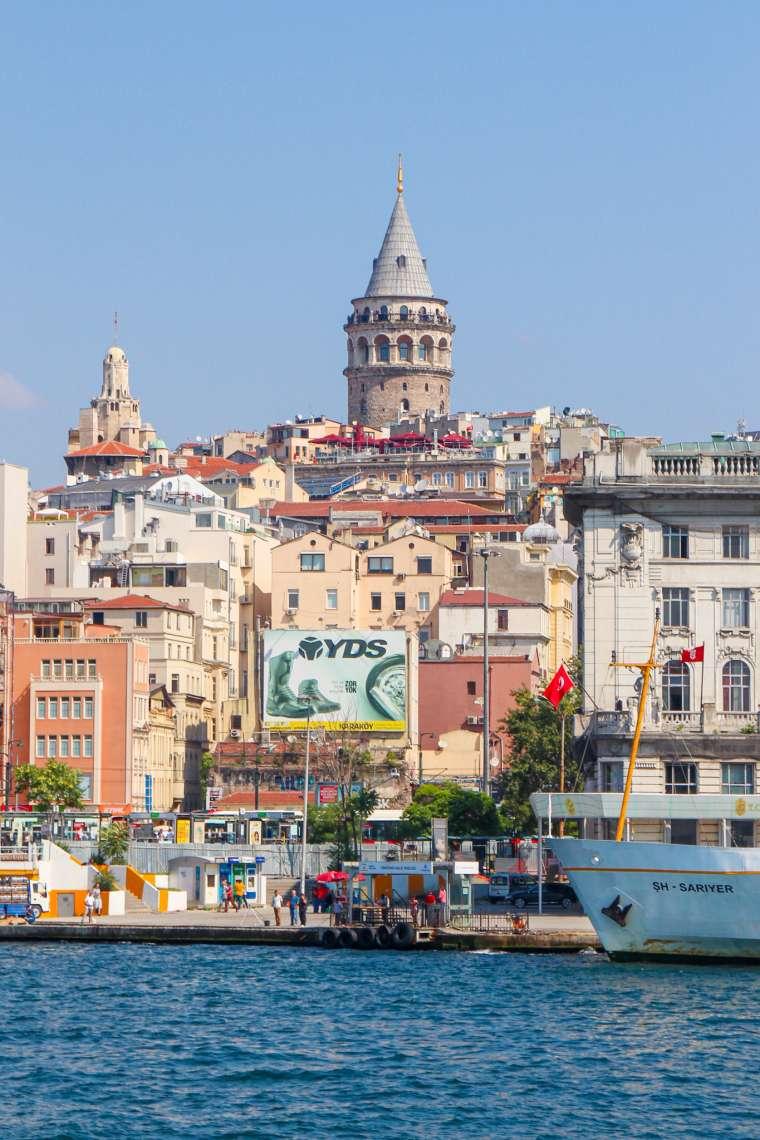 Karakoy + Beyoglu Neighborhood Istanbul Turkey