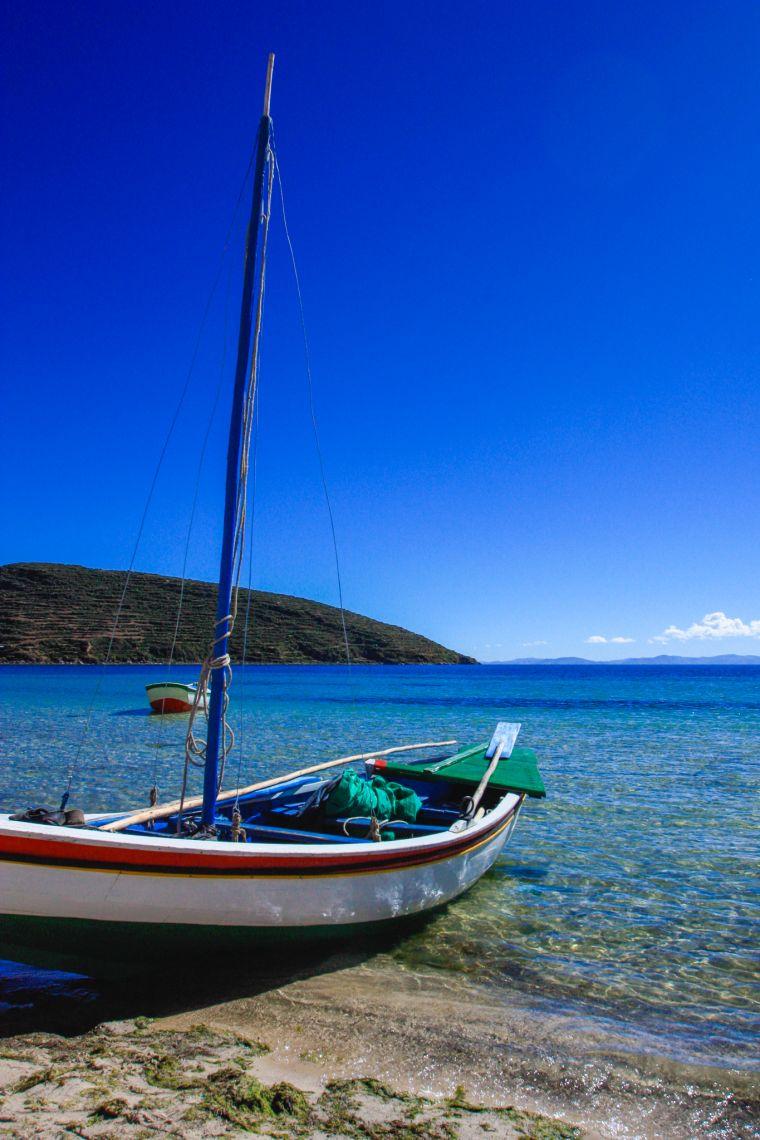 Lake Titicaca in Peru and Bolivia
