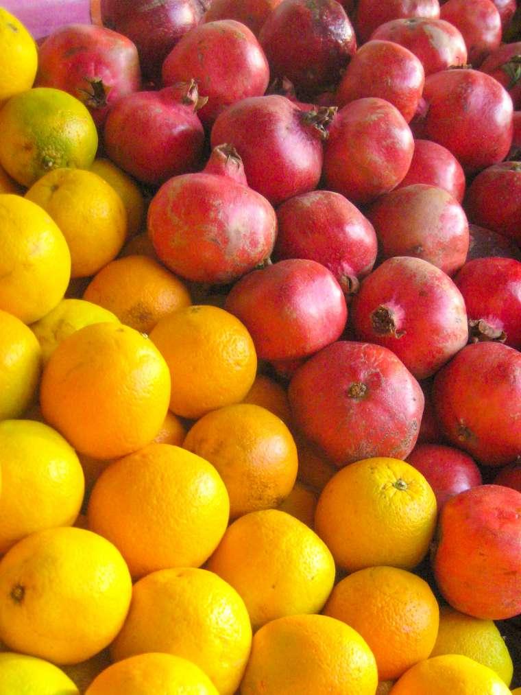 Fresh Pomegranate Fruit Istanbul Turkey