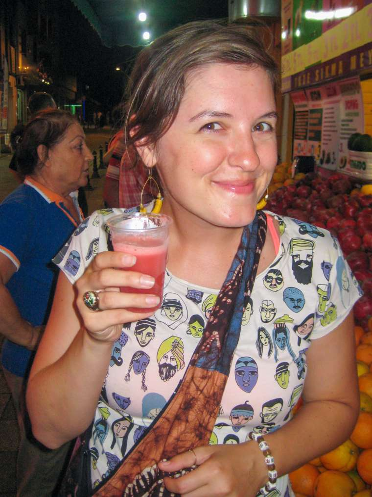 Fresh Watermelon Juice Istanbul Turkey