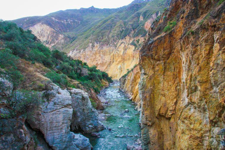 Trekking in Colca Canyon Arequipa Peru
