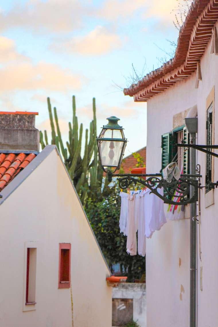 Alfama Neighborhood Lisbon Portugal