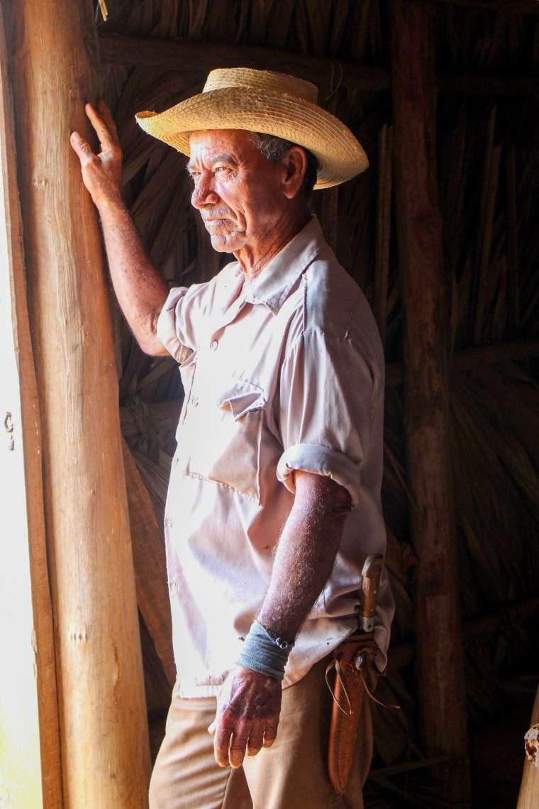 Cuban Cigar Maker Vinales Cuba