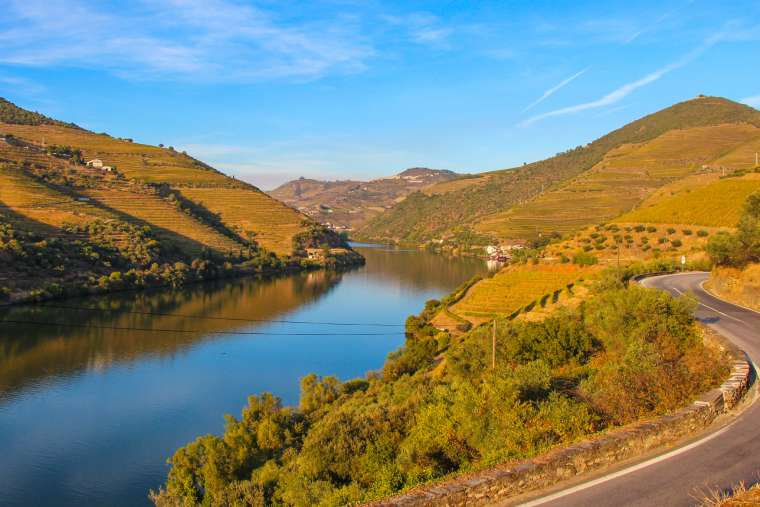 Douro Wine Valley Scenery Portugal