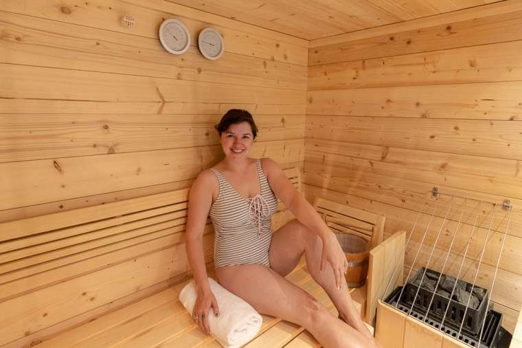Finnish Dry Sauna Lapland Finland 4