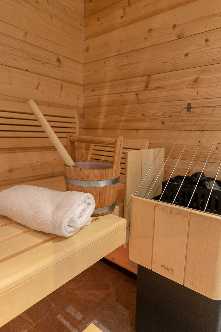 Finnish Dry Sauna Lapland Finland