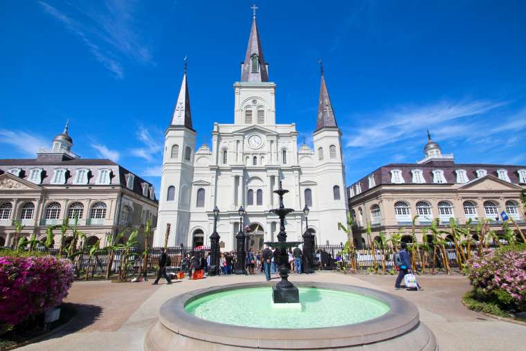 Jackson Square Park Scenery NOLA New Orleans