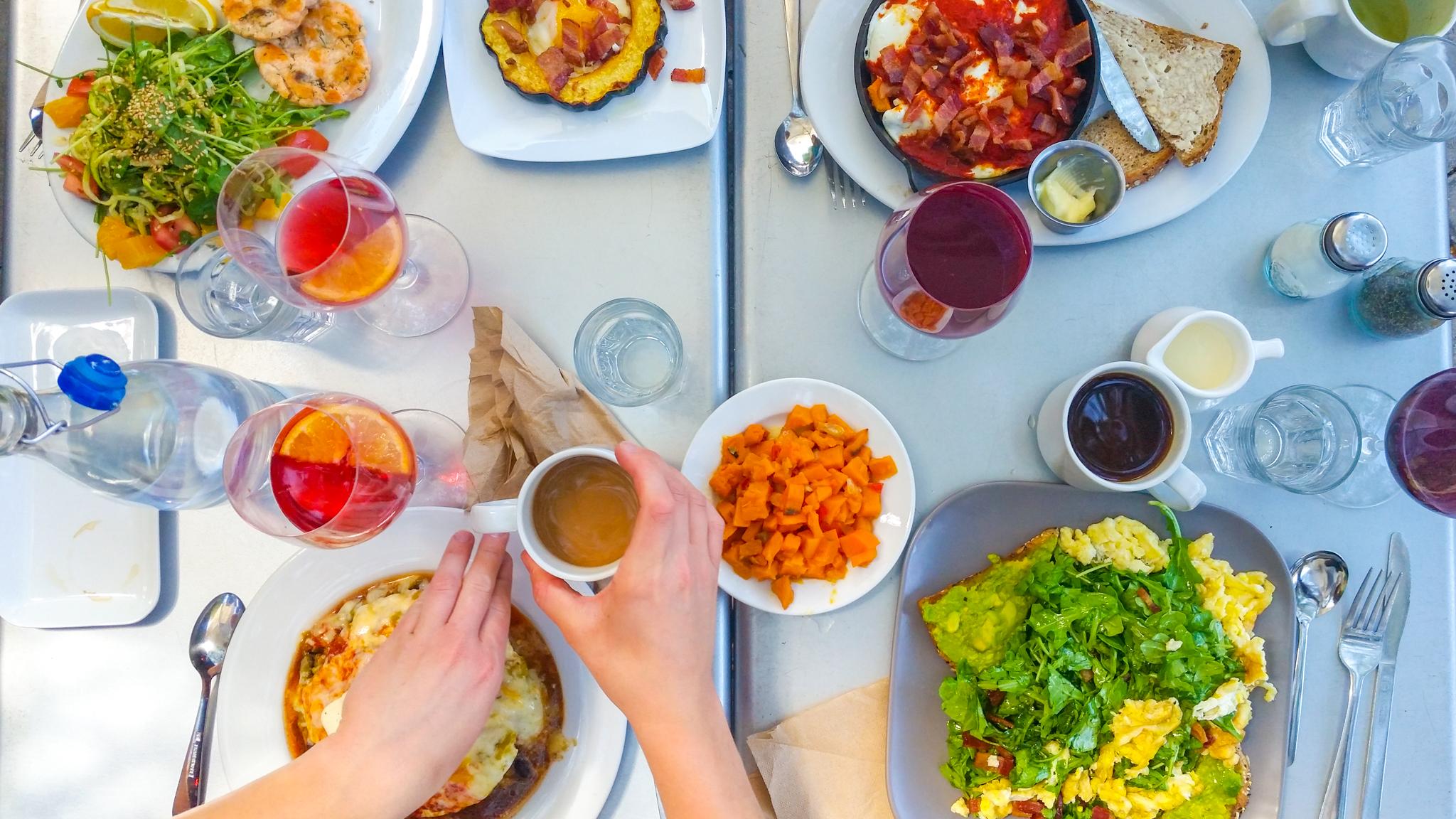 Food Flat Lay Santa Fe New Mexico