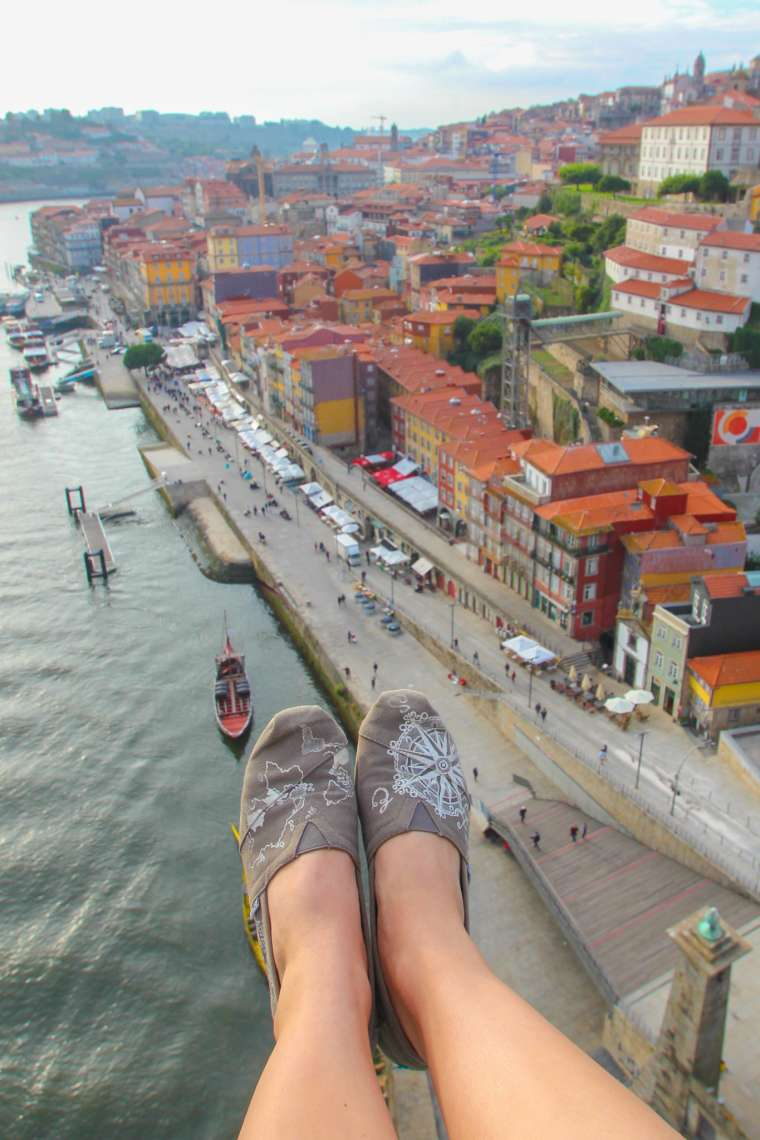 View from Above Porto Portugal