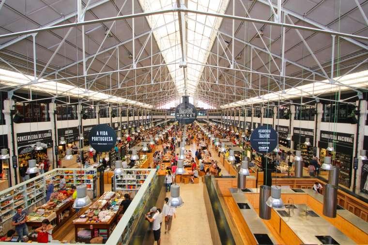 Ribeira TimeOut Market Lisbon Portugal