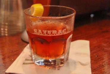 Sazarac Cocktail at Sazarac Bar NOLA new orleans