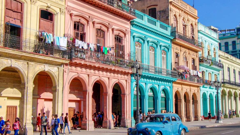 Street Scene Havana Cuba
