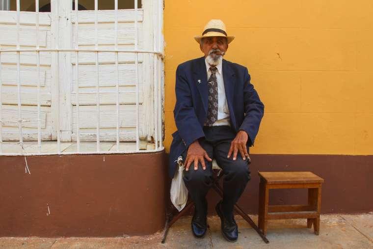Street Scene Trinidad Cuba