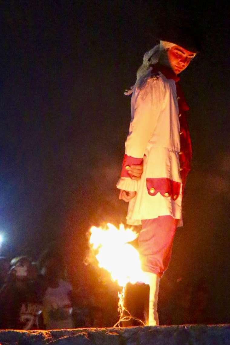 cannon blast ceremony havana cuba