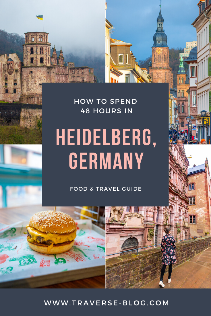 48 Hours in Heidelberg Germany Pinterest Image 4