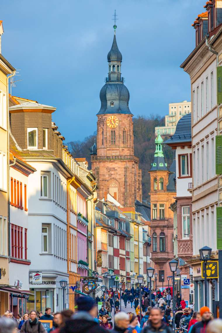 Altstadt Architecture Heidelberg Germany