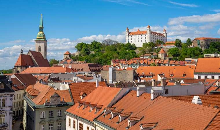 Architecture in Bratislava Slovakia