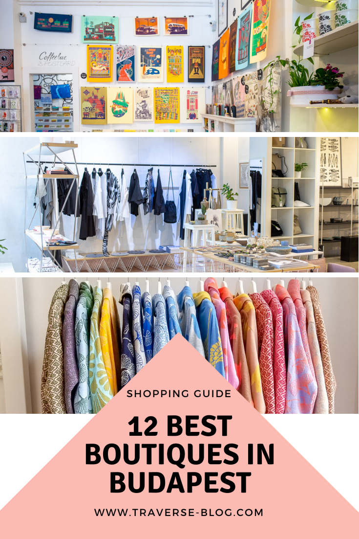 Boutique Shopping Guide Budapest Pinterest Image