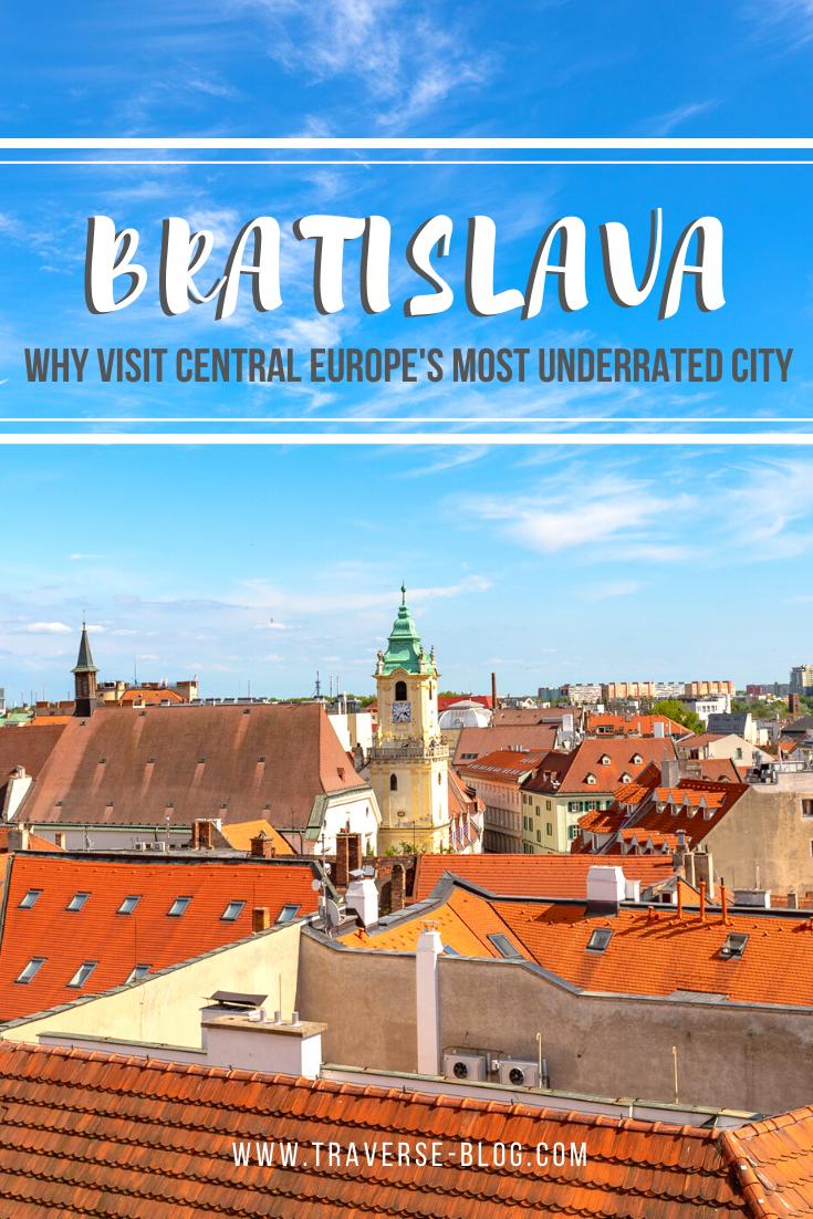 Bratislava Slovakia Itinerary Pinterest Image
