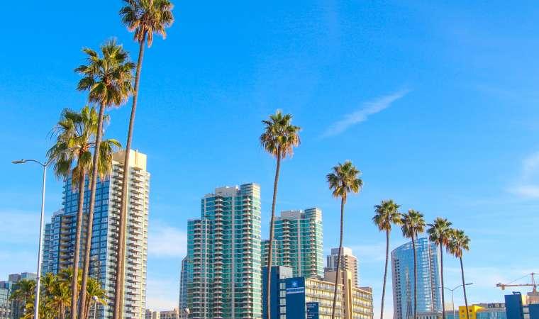 Downtown San Diego Scenery California
