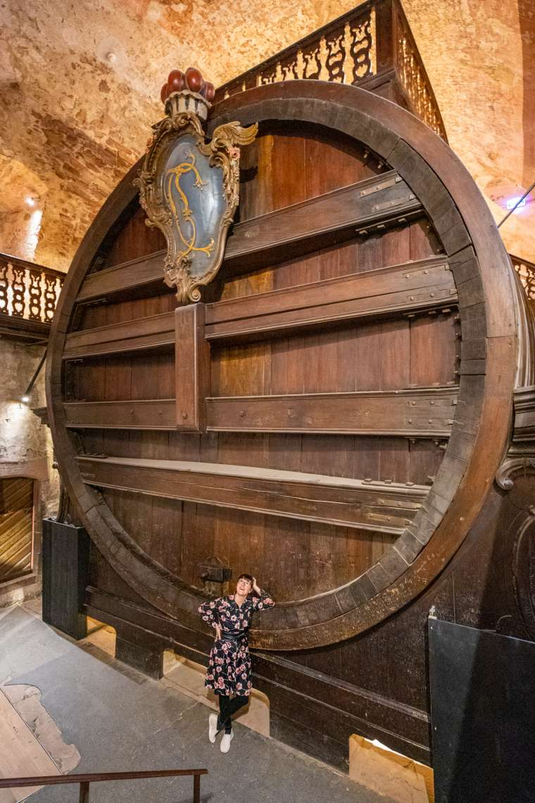 Giant Wine Barrel Heidelberg Germany