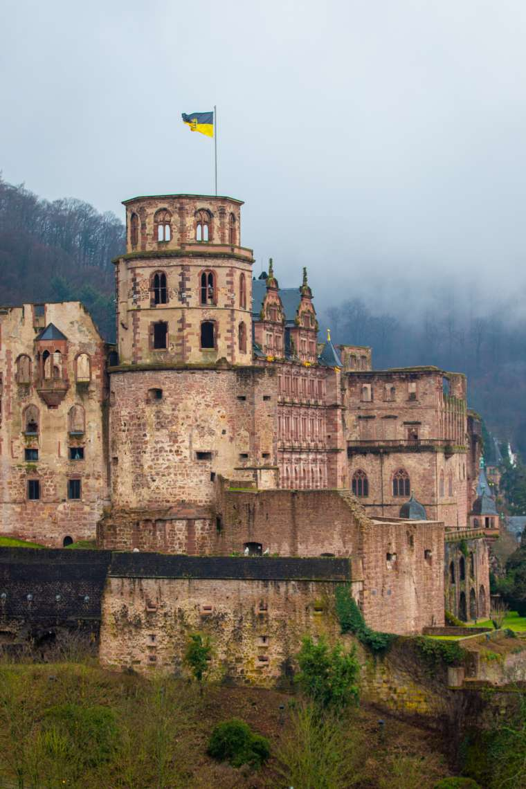 Heidelberg Castle Palace Germany