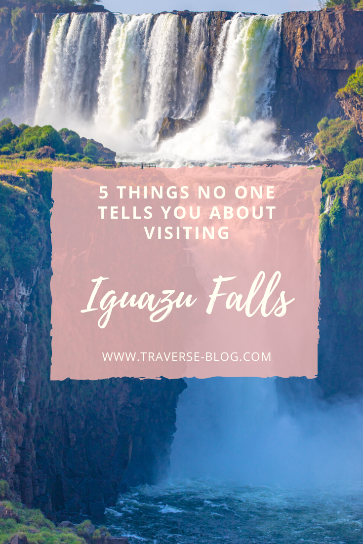 Iguazu Falls Honest Travel Guide Pinterest Image