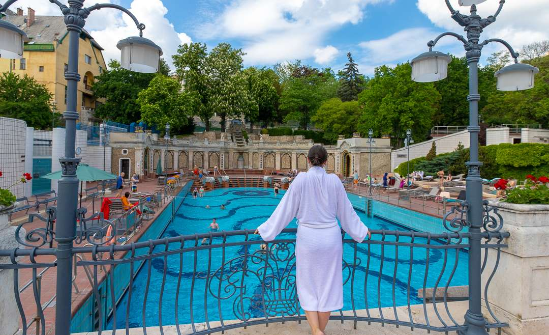 Gellert Thermal Baths Budapest Hungary