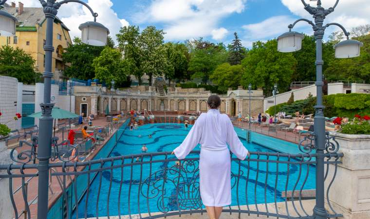 Gellert Thermal Baths Budapest Hungary