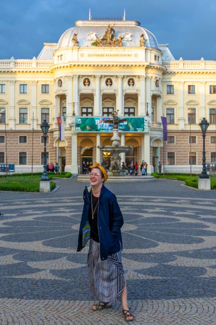 Bratislava Slovakia Opera House