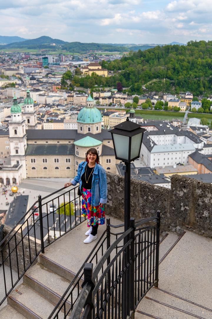 Skyline Salzburg Austria