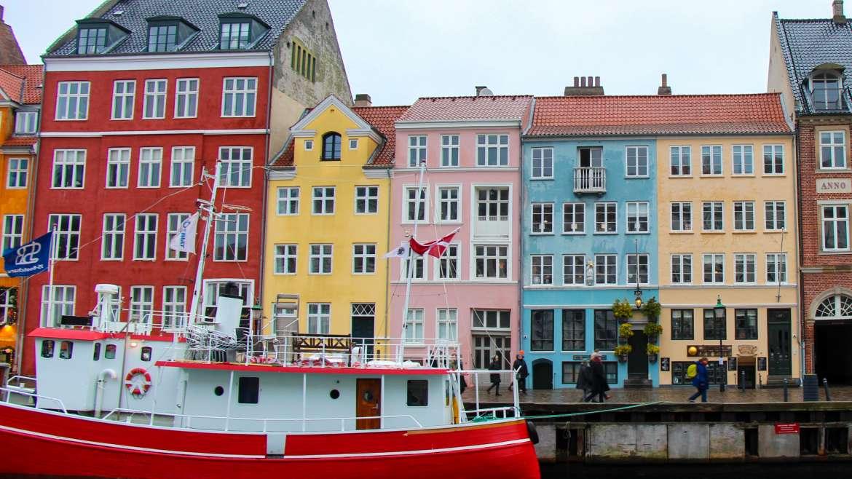 Nyhaven Neighborhood Copenhagen Denmark