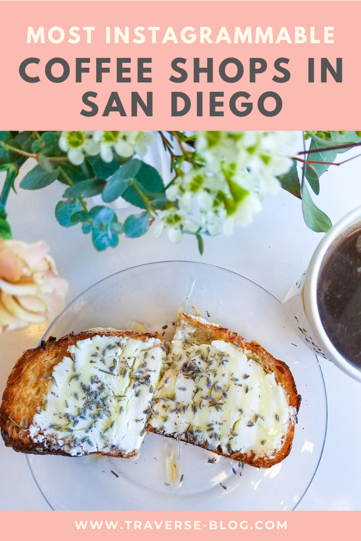 San Diego Coffee Shop Guide Pinterest Image