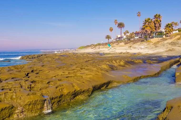 Sunset in La Jolla San Diego California USA