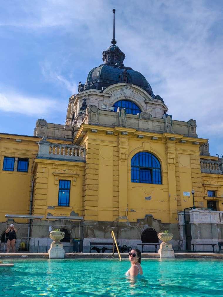 Széchenyi Thermal Baths Budapest Hungary