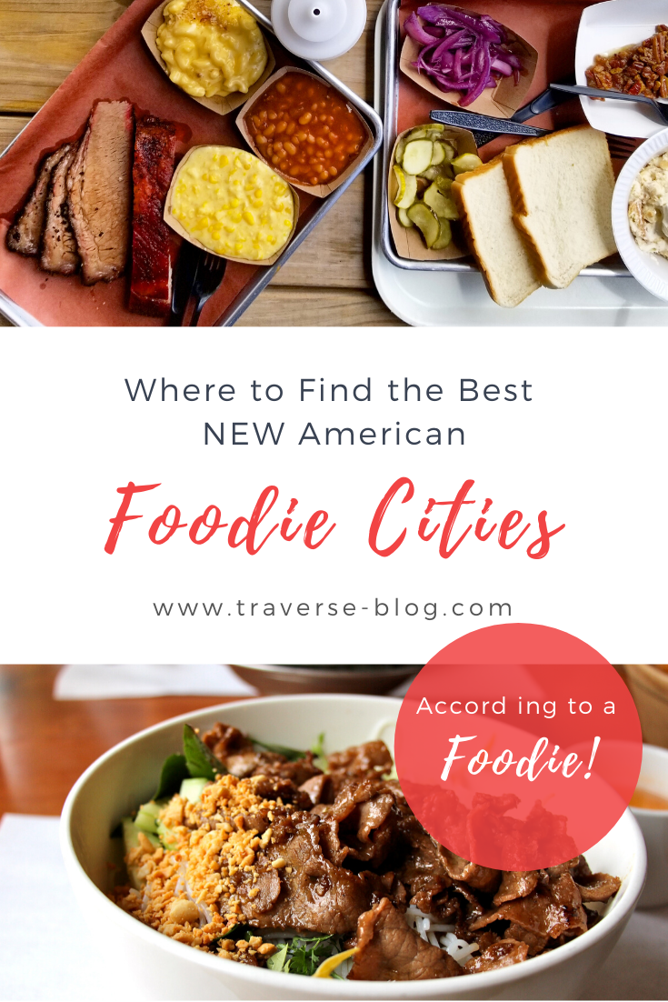 Underrated Food Cities Guide USA Pinterest Image
