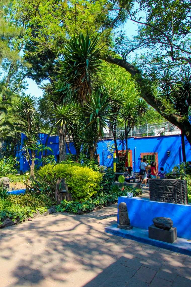 Casa Azul Frida Kahlo Coyocan Mexico City CDMX