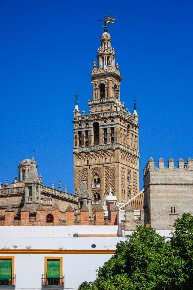 Sevilla Spain Historical Scenery