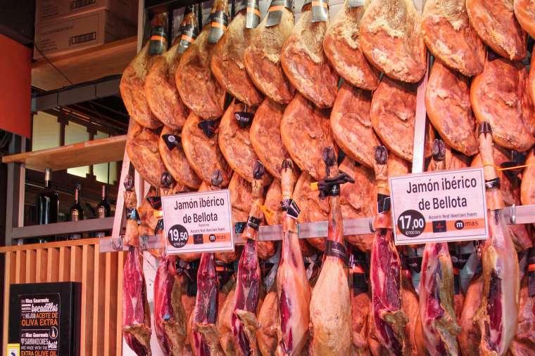 Iberico Ham Spanish Cuisine Food Spain