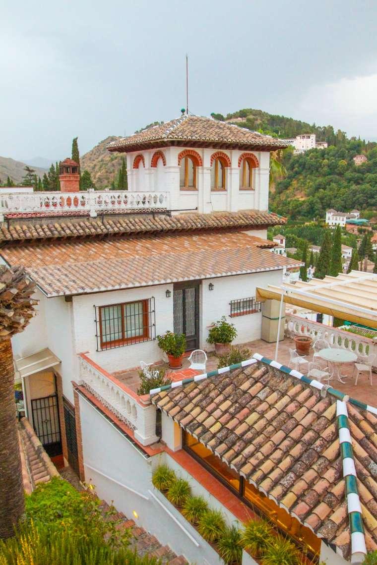 Street Scenery in Granada Spain