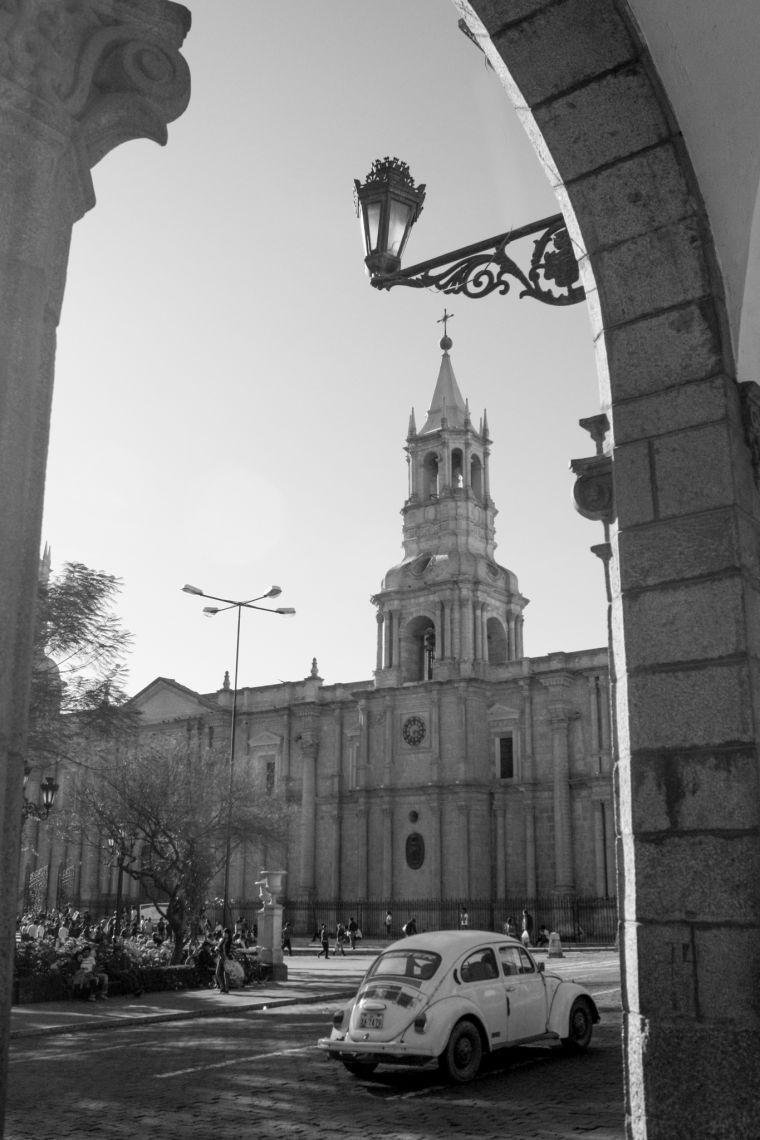 Arequipa Peru Street Scenery