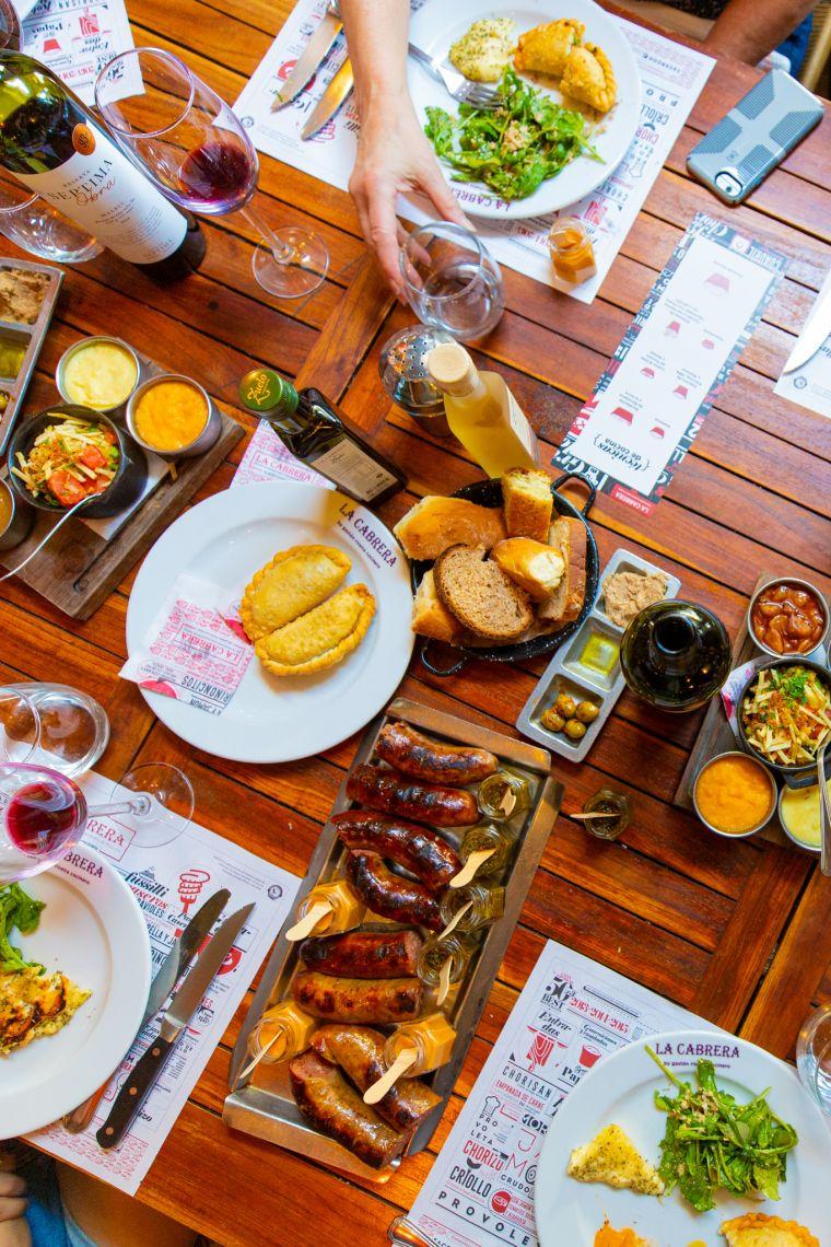 Asado Lunch at La Cabrera Restaurant Buenos Aires Argentina
