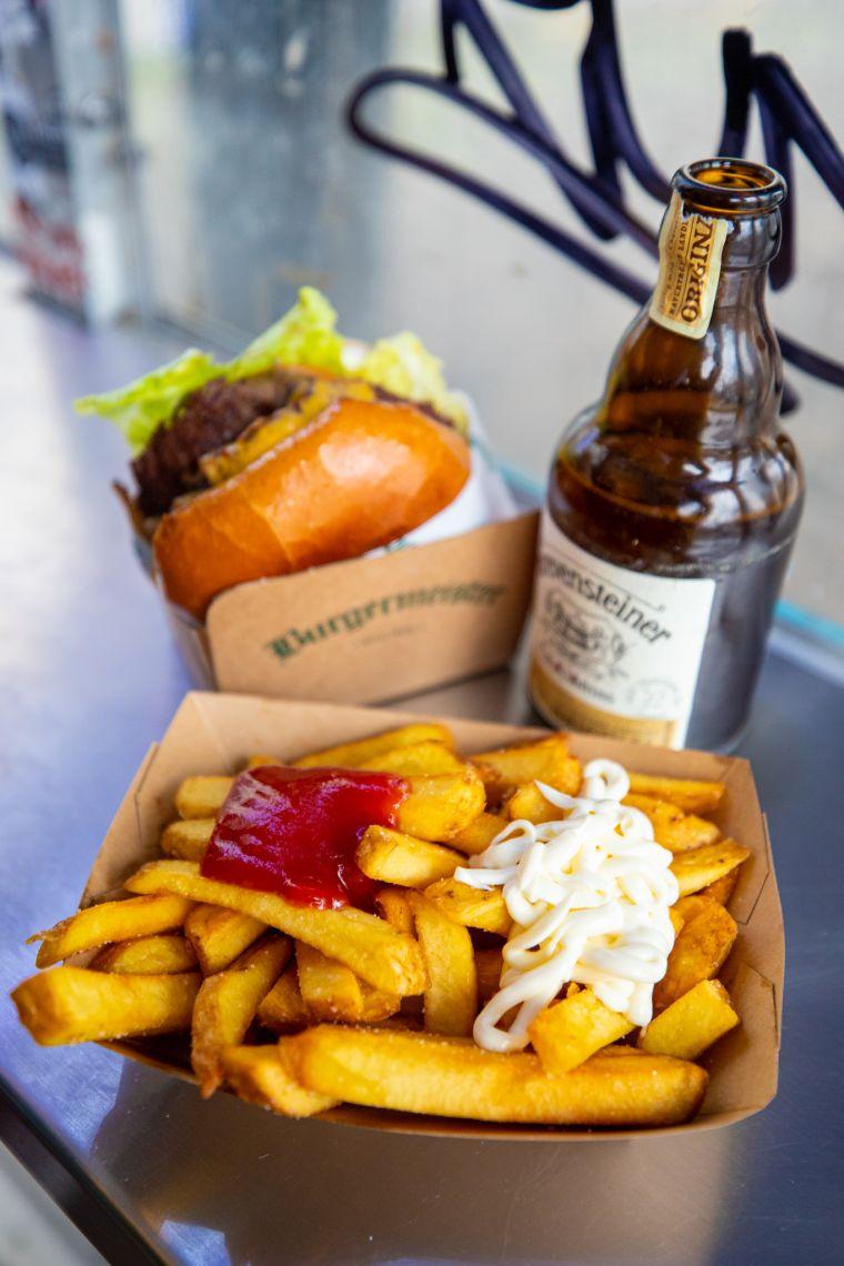Burgermeister Restaurant Berlin Germany