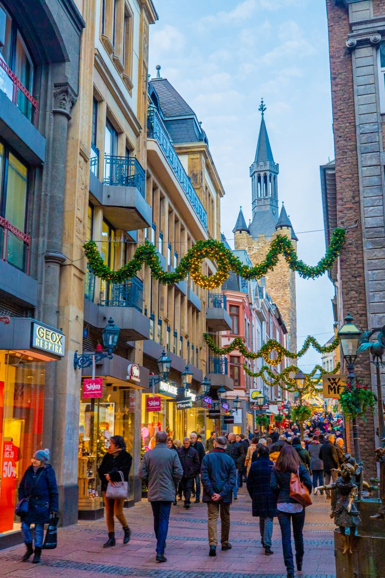 Christmas Market Aachen Germany