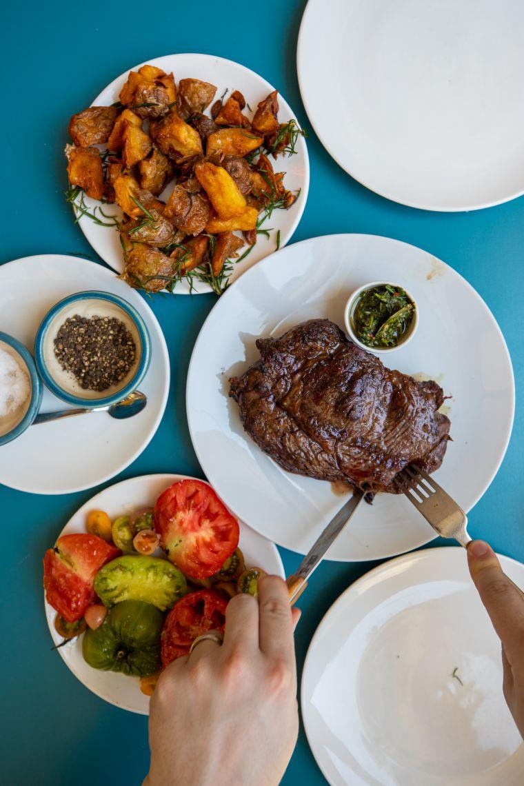 Corte Comedor Restaurant Buenos Aires Argentina