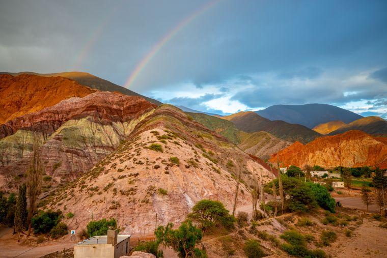 Hill of 7 Colors Purmamarca Argentina